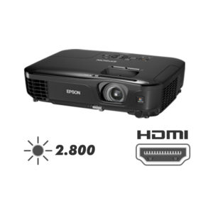 PROJETOR EPSON  S12+ [ HDMI ] 2.800 ANSI LÚMENS