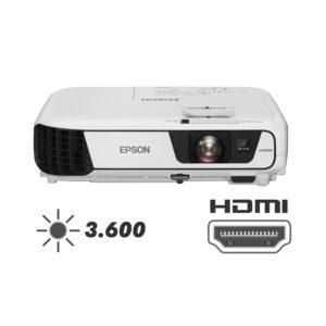PROJETOR EPSON  S36+ [ HDMI ] 3.600 ANSI LÚMENS